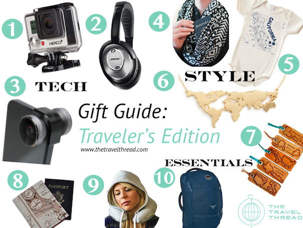 Gift Guide: Traveler's Edition