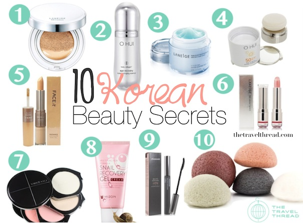 Korean Beauty Secrets: 10 Must-Try Products