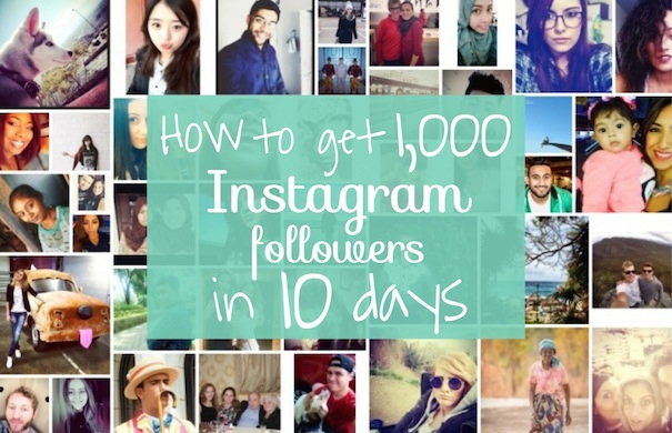 How to get 1,000 Instagram followers in 10 days