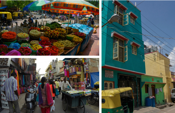 Bright Colors of India