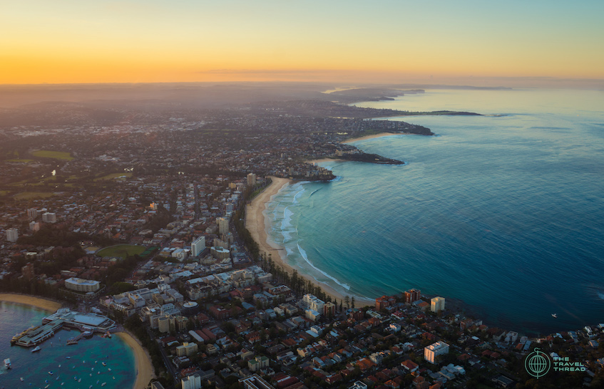 Sydney Beaches Aerial View