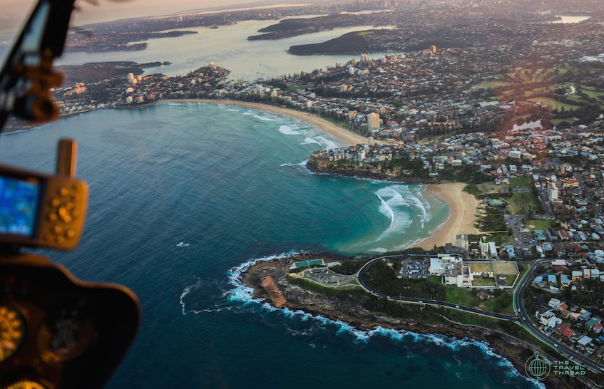 Sydney Coogee Beach Aerial View