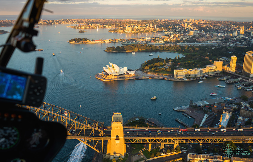 Sydney Opera House Aerial View