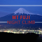 Climbing Mt Fuji at Night