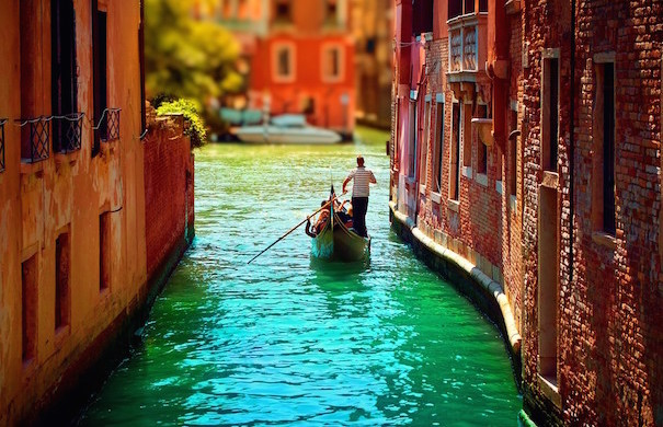 Ride a Gondola in Venice