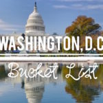 Washington DC Bucket List